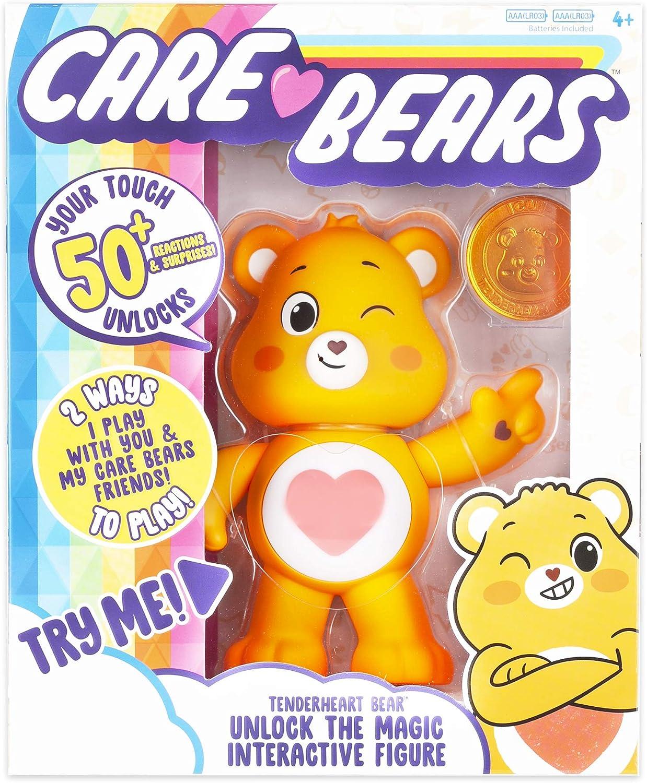 Care Bears Tenderheart Bear Interactive Collectible Figure