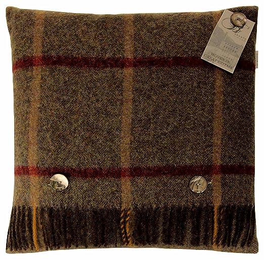Bronte by Moon, Windowpane pura Shetland 100% lana virgen ...