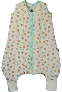 Slumbersafe Summer Sleeping Bag With Feet 1.0 Tog Simply Owl 24-36 months