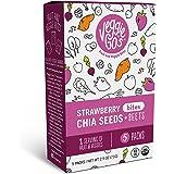 Veggie-Go's Organic Fruit Snack Bites Strawberry Chia (5 Packs - Net Wt. 2.5 oz.)