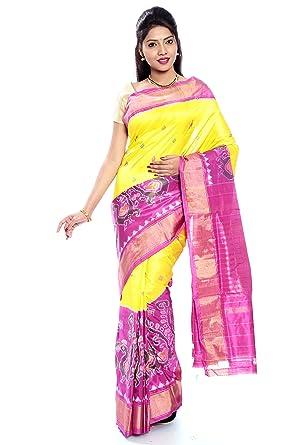 729fc2abf5 Amazon.com: Mandakini — Indian Women's Pochampally - Handloom - Ikat ...
