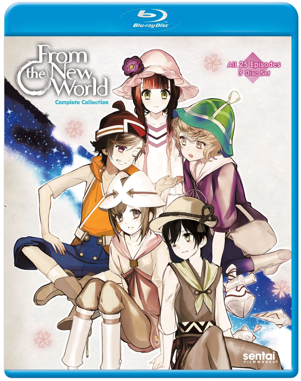 From the New World Complete Collection Blu-ray (Dual Audio)