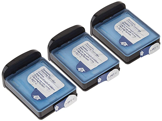 Amazon.com: Panasonic WES035P Replacement Vortex HydraClean Solution Cartridges for Men