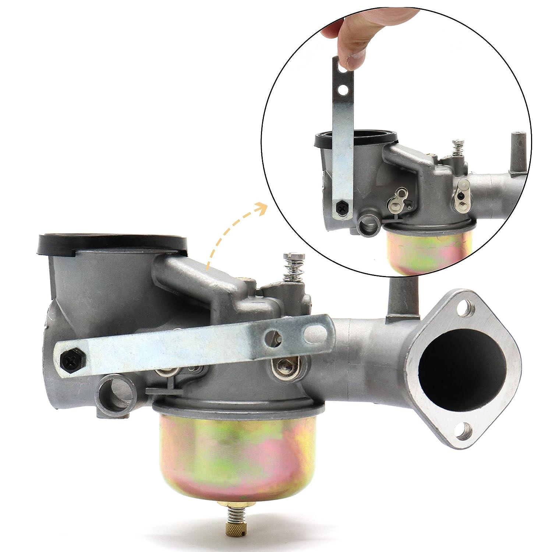 Iztoss Genuine OEM 491031 Carburetor Carb Kit for Briggs /& Stratton 490499 491026 281707 12HP Engines