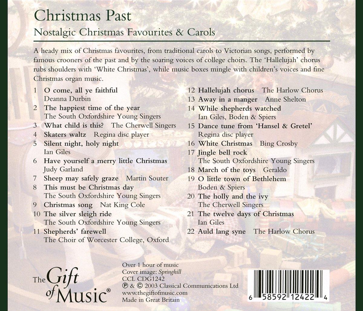 Christmas Past - Nostalgische Weihnachtslieder - Judy Garland, Nat ...