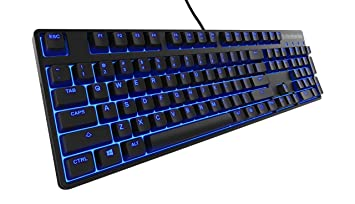 4da594b0306 SteelSeries Apex M500, Gaming Keyboard, Mechanical, Cherry MX Red, Blue  Backlit,
