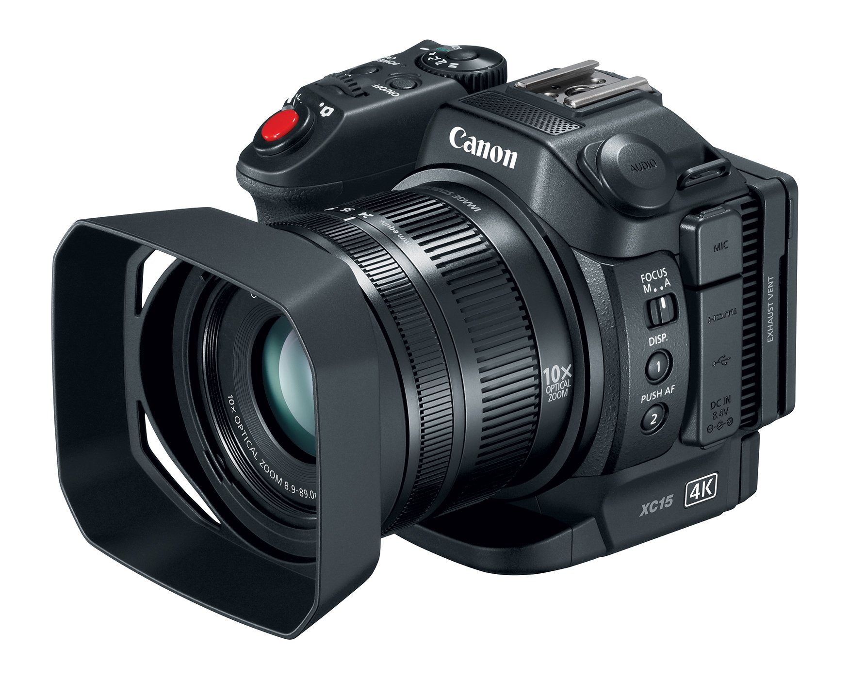Canon XC15 4K UHD Professional Camcorder by Canon