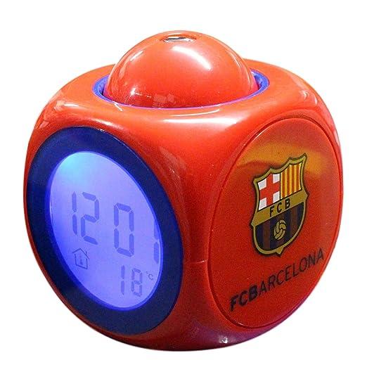 Mingrui - Despertador del club de fútbol FC Barcelona, Messi, Suárez, Neymar: Amazon.es: Relojes