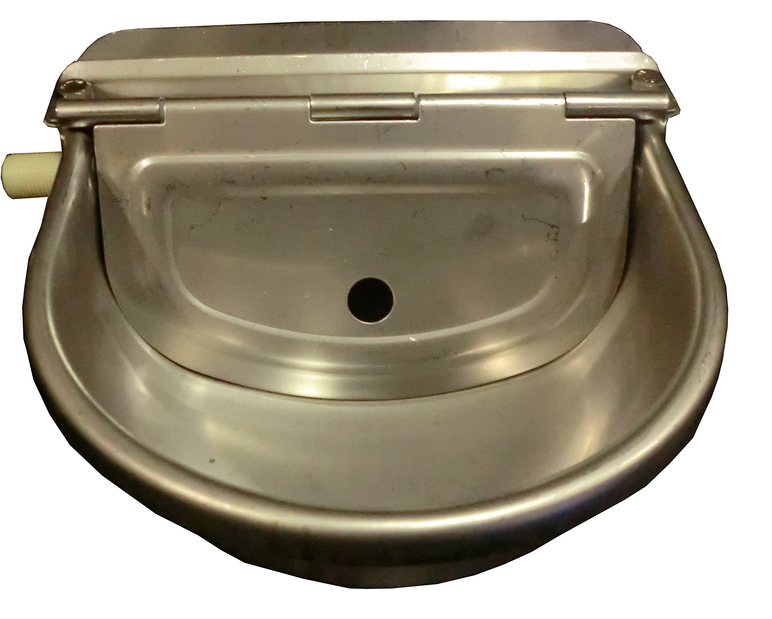 Automatic Farm Grade Stainless Stock Waterer Horse Cattle Goat Sheep Dog Water BY Rabbitnipples.com by Rabbitnipples.com
