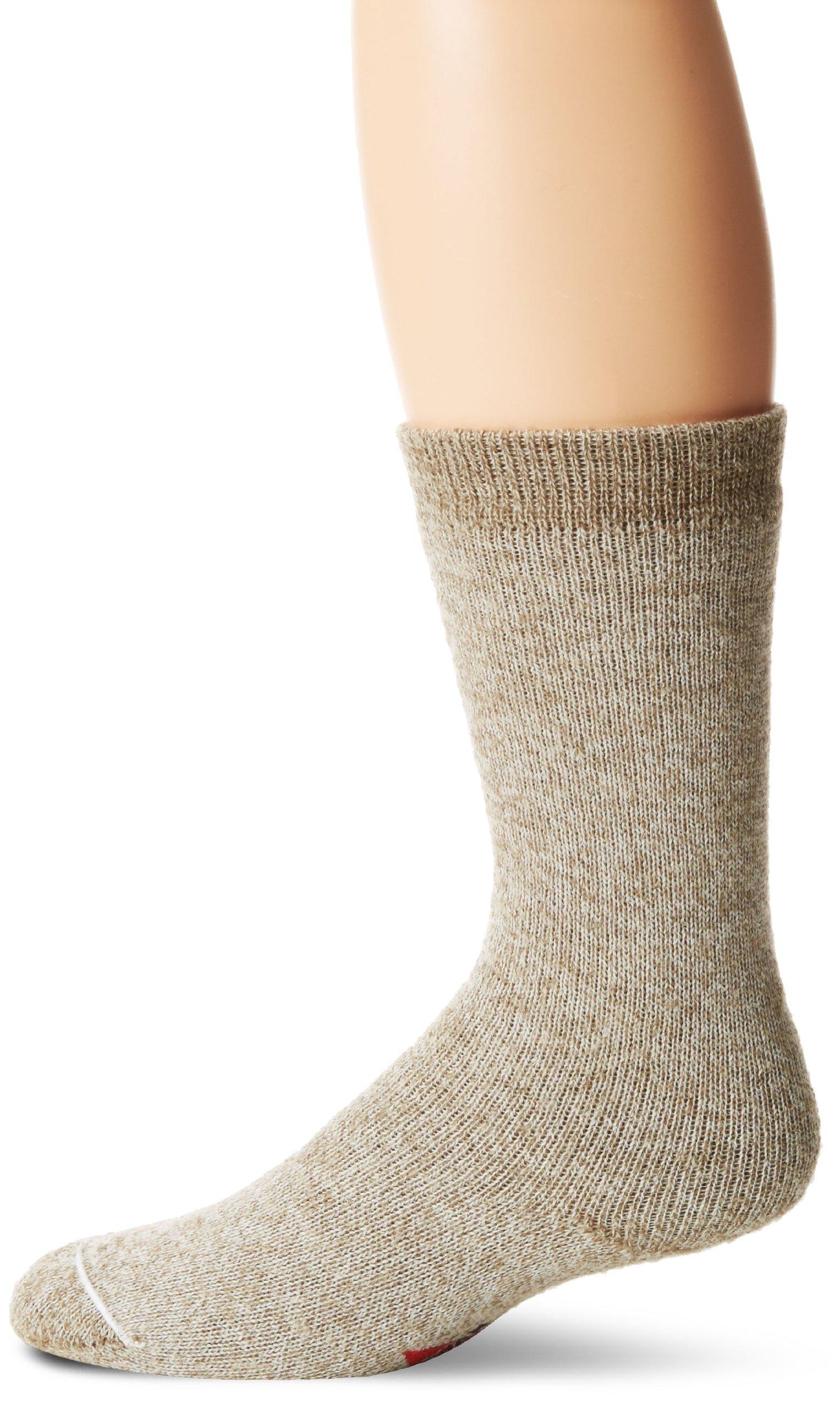 Wigwam Men's 40 Below Heavyweight Boot Socks, Grey Twist, Medium by Wigwam