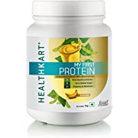 Healthkart My First Protein for Beginners with Whey and Casein, Banana - 1kg