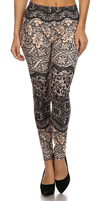 Same Mind INC Luxurious Quality Hot Trendy Printed Leggings-
