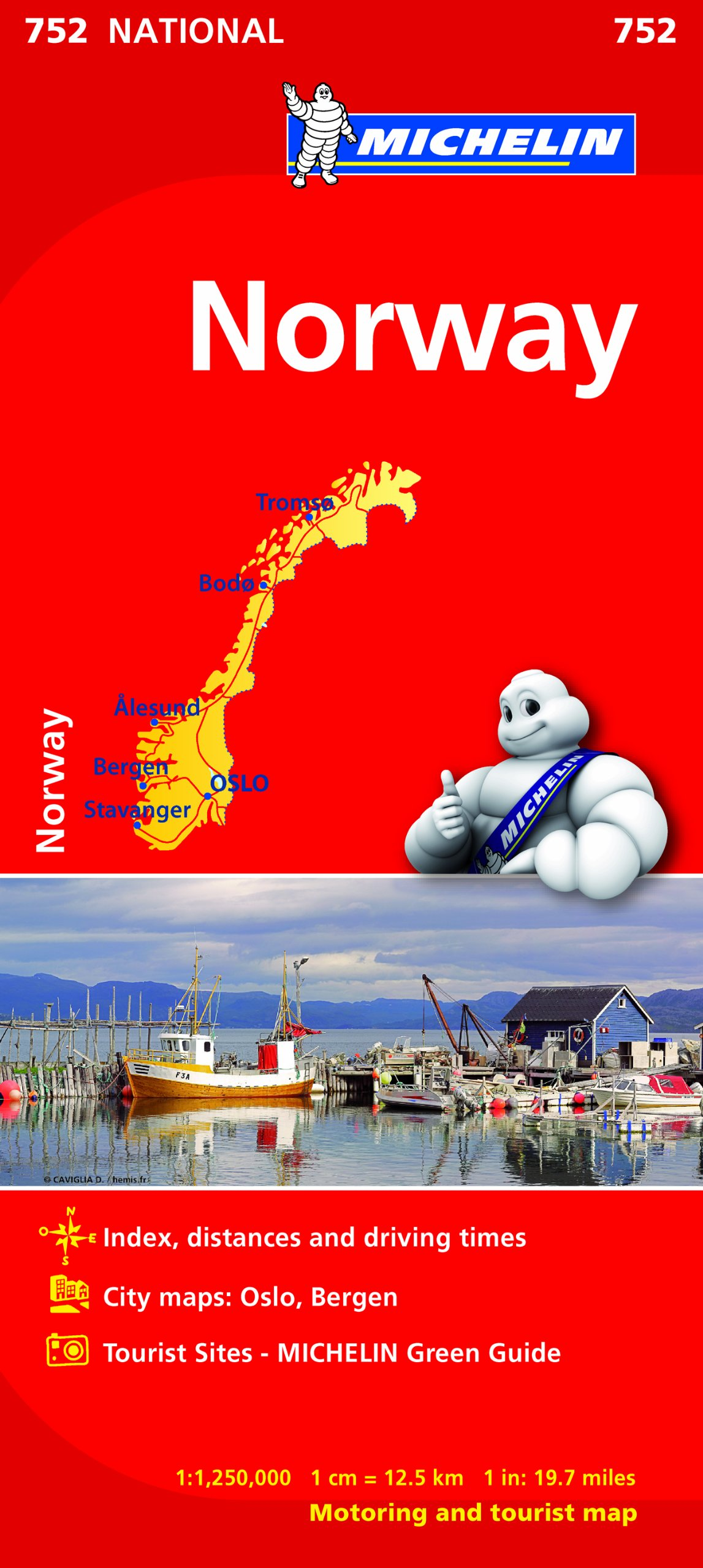 Mapa National Noruega (Mapas National Michelin): Amazon.es: Michelin: Libros en idiomas extranjeros
