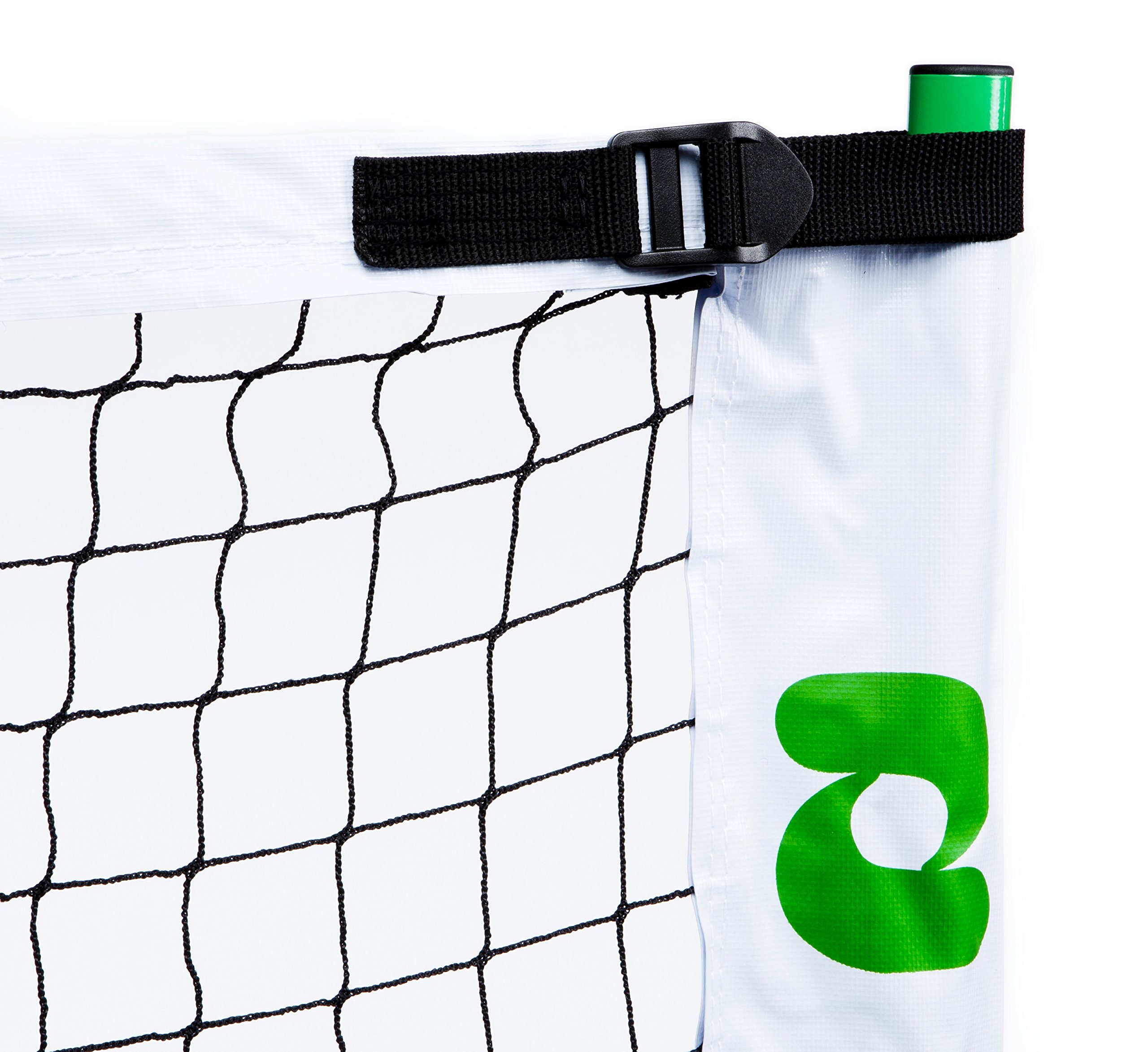 Pickle-Ball, Inc. Pickleball Diller Tournament Net Set (Set Includes Metal Frame + Net + 4 paddles + 4 balls + Rules Sheet in Carry Bag) by Pickle-Ball (Image #3)