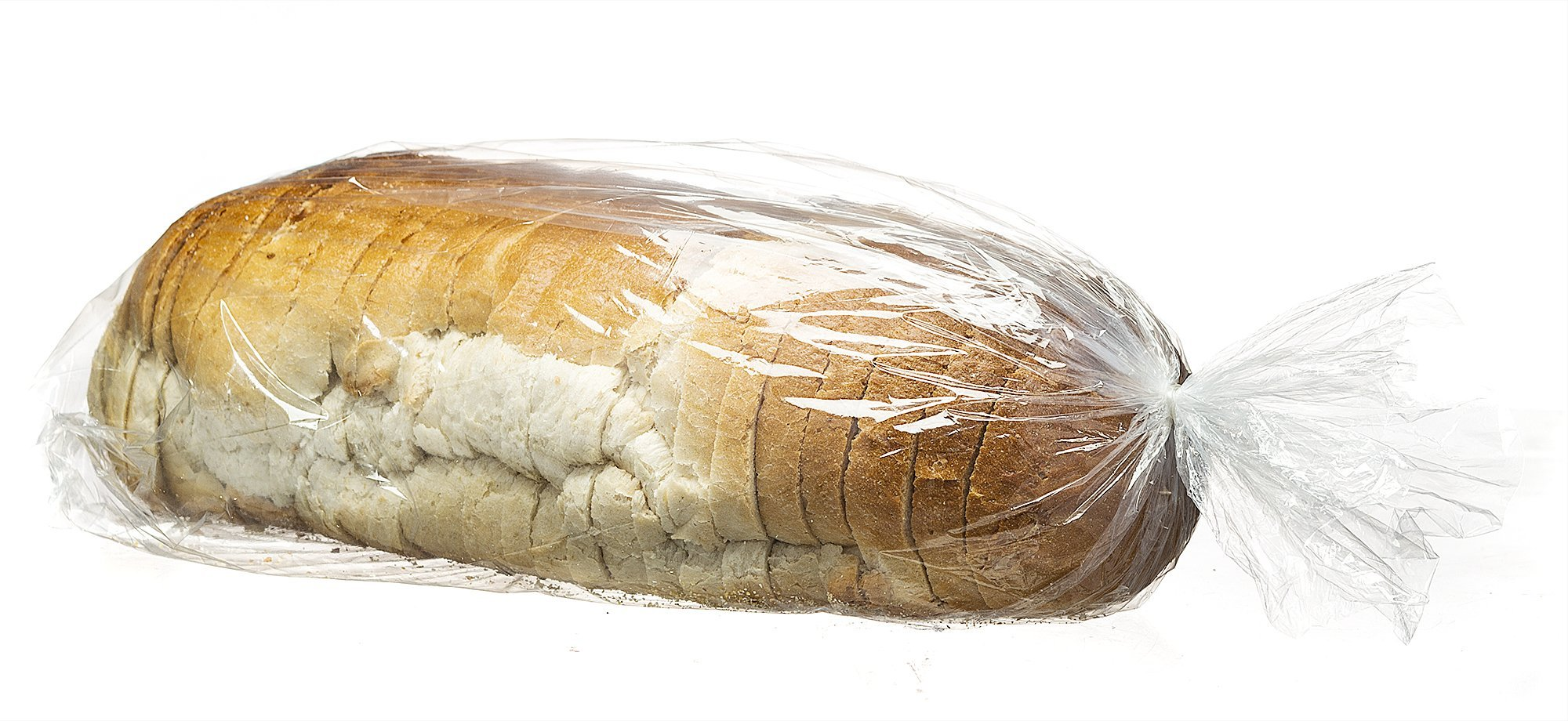 """Basix Plastic Clear Bread And Grocery Bags Box Of 700 SIZE: 8"""" x 4"""" x 20"""""""