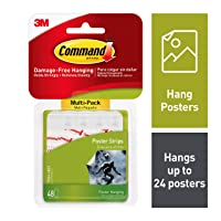 Deals on 48-count 3M Safety 17024VP Command Poster Strip