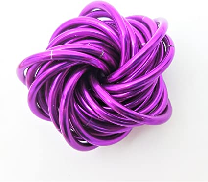 Stress Ball for Restless Hands M/öbii Ultra Violet Medium Mobius Fidget Ball Toy