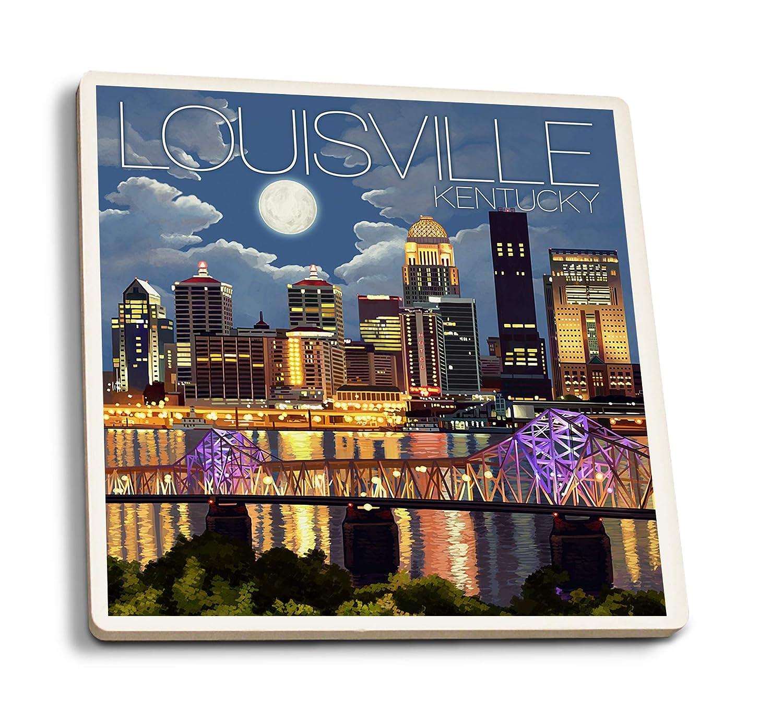 『1年保証』 ルイビル、ケンタッキー州 – 夜のスカイライン 15oz Mug LANT-3P-15OZ-WHT-45568 15oz 4 B07HFJ7ZVK 4 – Coaster Set 4 Coaster Set, 【お買得!】:4a585f65 --- podolsk.rev-pro.ru