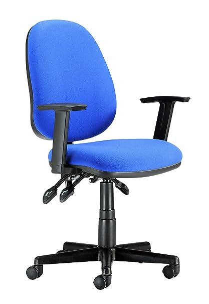 Sillas de oficina 130019BLAA respaldo ergonómico ajustable ...