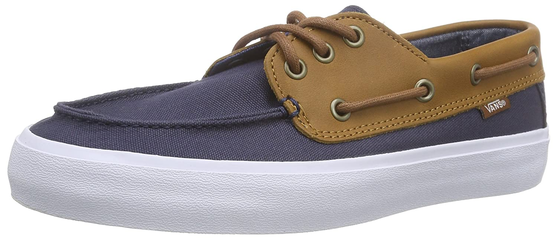 3b2b8171116d70 Amazon.com  Vans Men s Chauffeur Sf C and L Ankle-High Leather Flat Shoe   Vans  Shoes