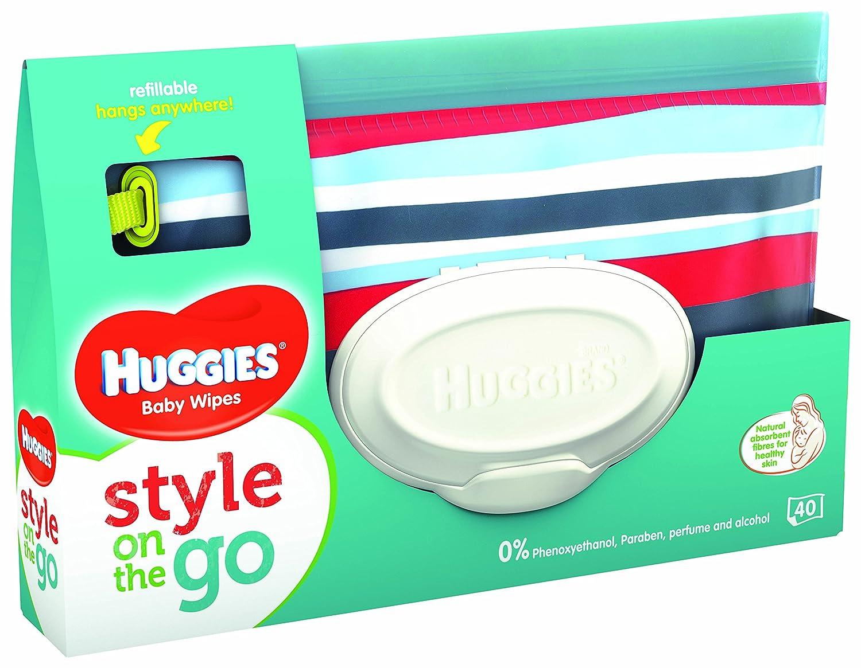 HUGGIES Lingettes Style Pochette