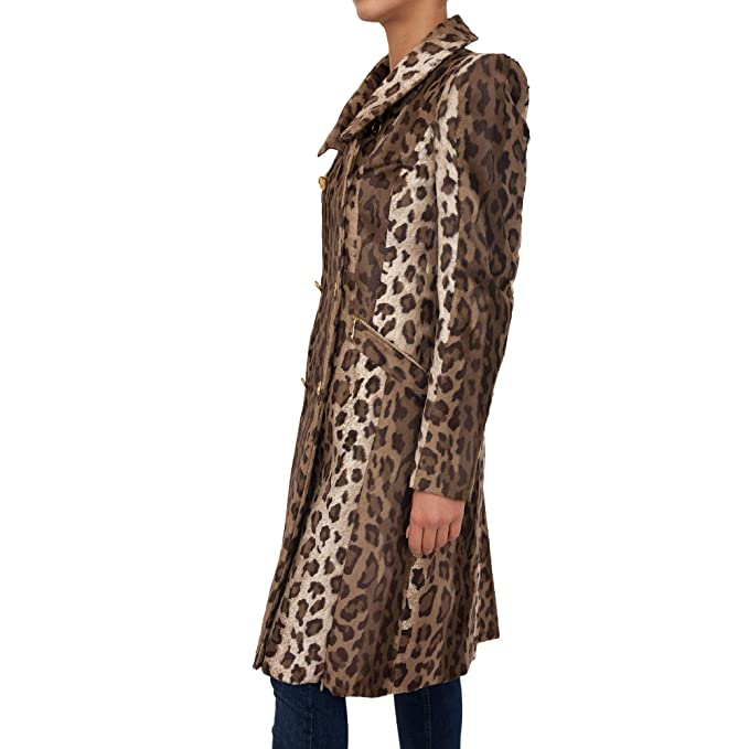 2789dd14a4 Just Cavalli Cappotto Donna S02AA0065 N39061JC122S Animalier ...