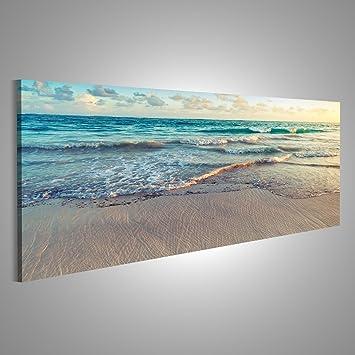 Tableau mer et coucher de soleil 1 81Zpr7C64 L. SY355
