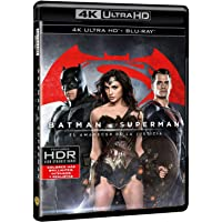 Batman V Superman: El Amanecer De La Justicia 4k Uhd + copia digital [Blu-ray]