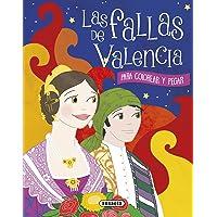 Las fallas de Valencia para colorear y pegar