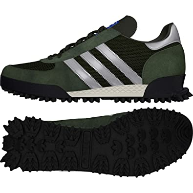 RARE! VINTAGE! ADIDAS Marathon Tr Training UK 7 EU 40 23 Made in Korea 90s