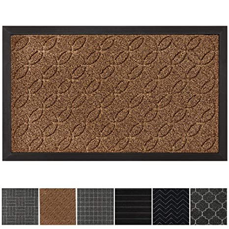 cd02c1d1dd1f GRIP MASTER Durable, Tough All-Natural Rubber Doormats (29x17 Size)  Waterproof Commercial