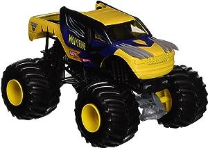 Hot Wheels Monster Jam 1:24 Die-Cast Wolverine Vehicle