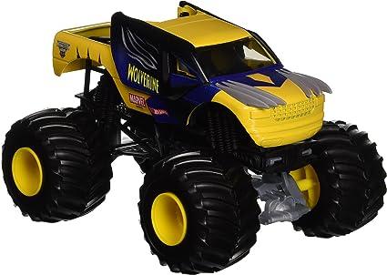 Amazon Com Hot Wheels Monster Jam 1 24 Die Cast Wolverine Vehicle Toys Games
