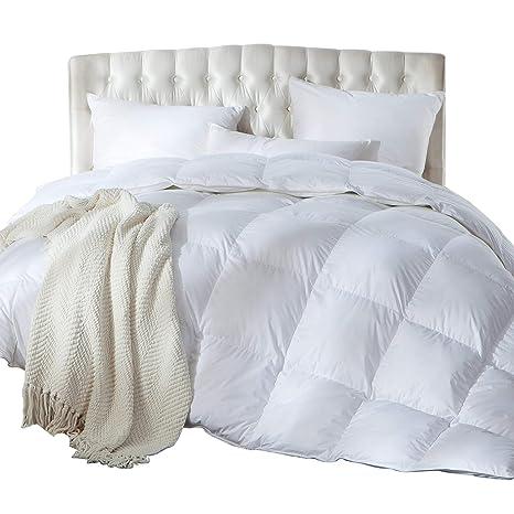 Luxurious King California King Size Siberian Goose Down Comforter Duvet Insert 1200 Thread