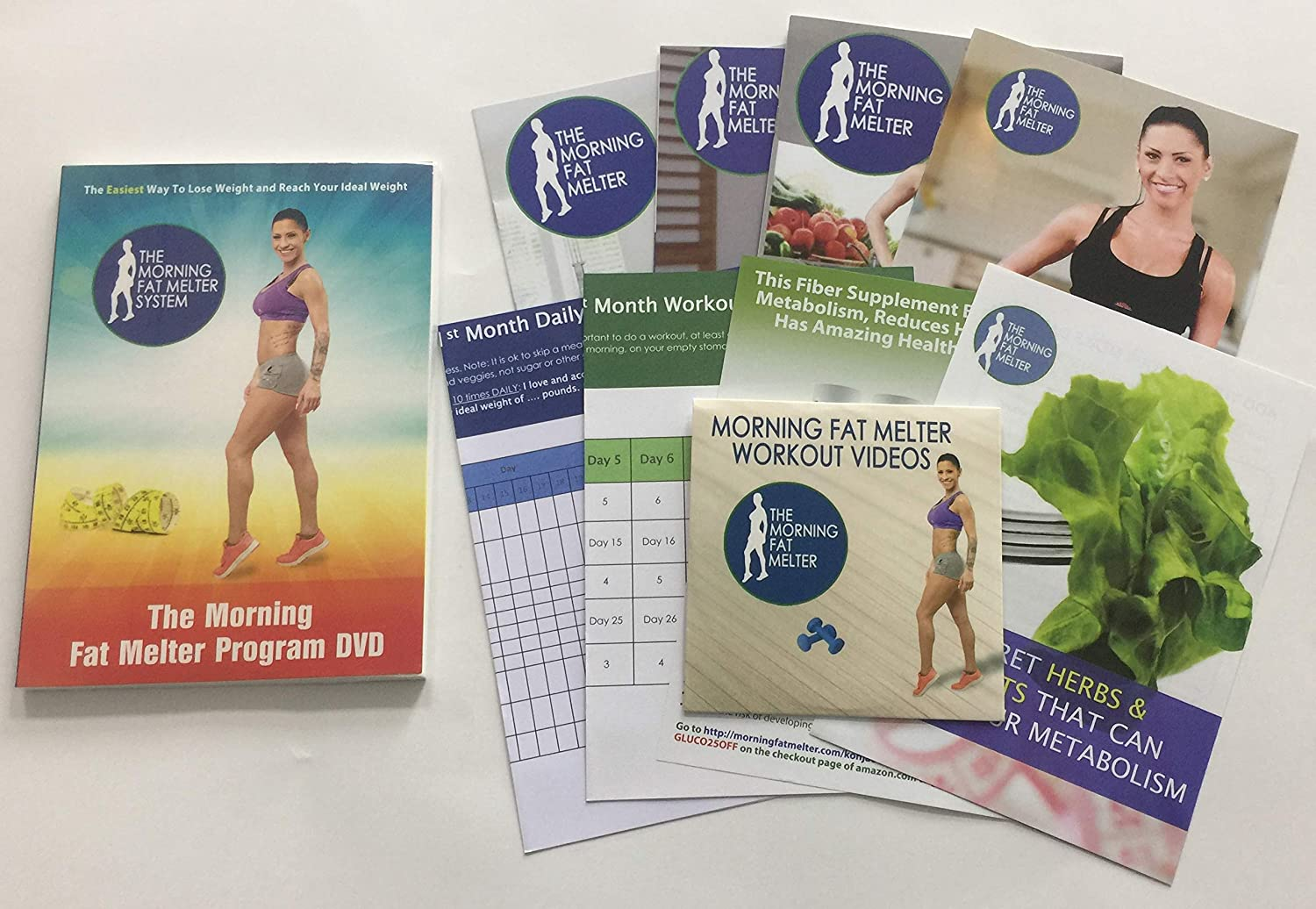 Morning Fat Melter Workout Dvd For Women Lose At Least 3 Pounds Week With Our Weight Loss Program 11 Workout Videos 30 Days Meal Plan 5