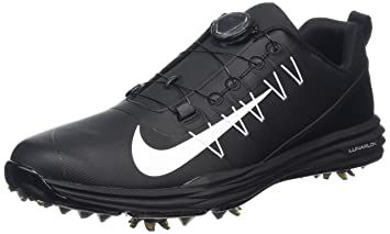 competitive price b9214 74cba Nike Lunar Command 2 Boa Chaussures de Golf Homme, Noir (Negro 002),