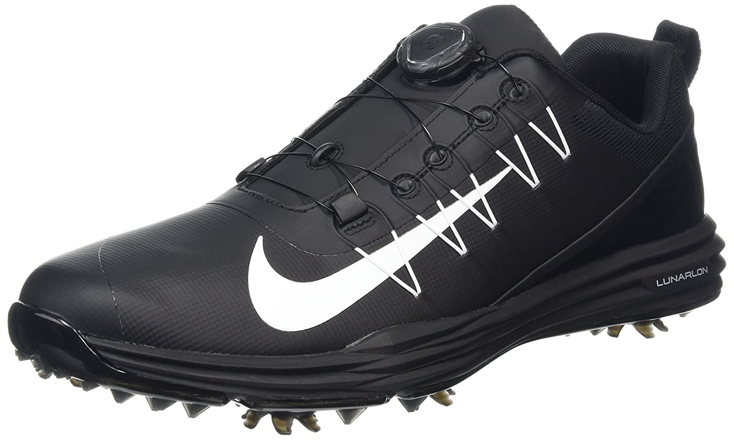 more photos 18f4b 13573 Amazon.com   Nike Men s 2017 Lunar Command 2 BOA Golf Shoes   Golf