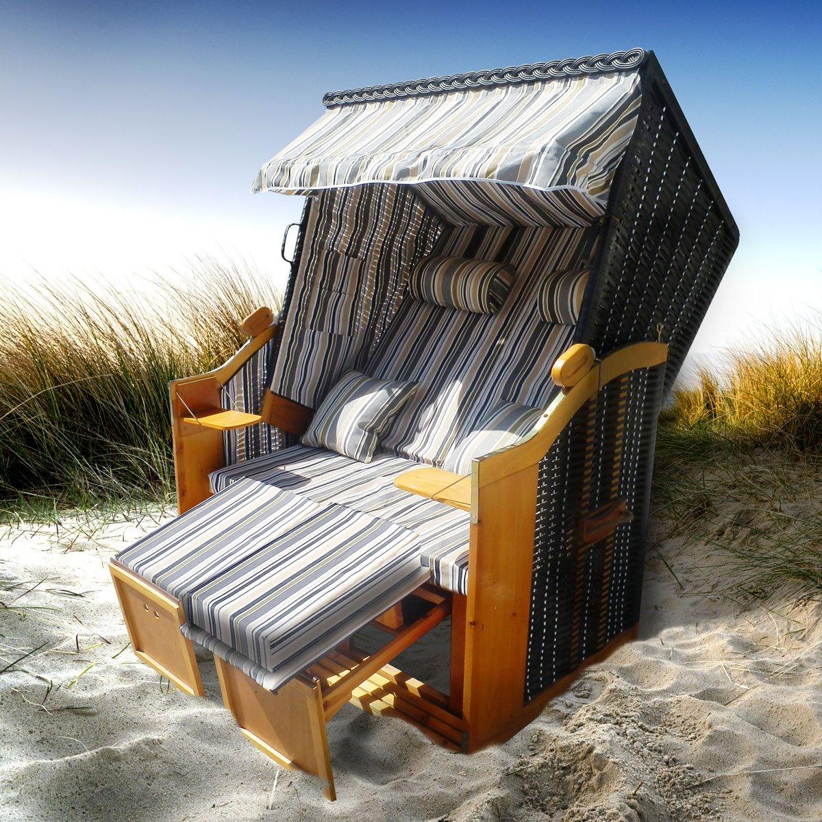Strandkorb Premium Volllieger Ostsee Gartenliege Bild
