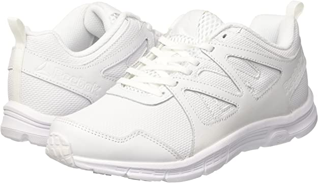 Reebok Run Supreme 2.0, Zapatillas de Running Unisex niños, Blanco (White/Steel), 37 EU: Amazon.es: Zapatos y complementos