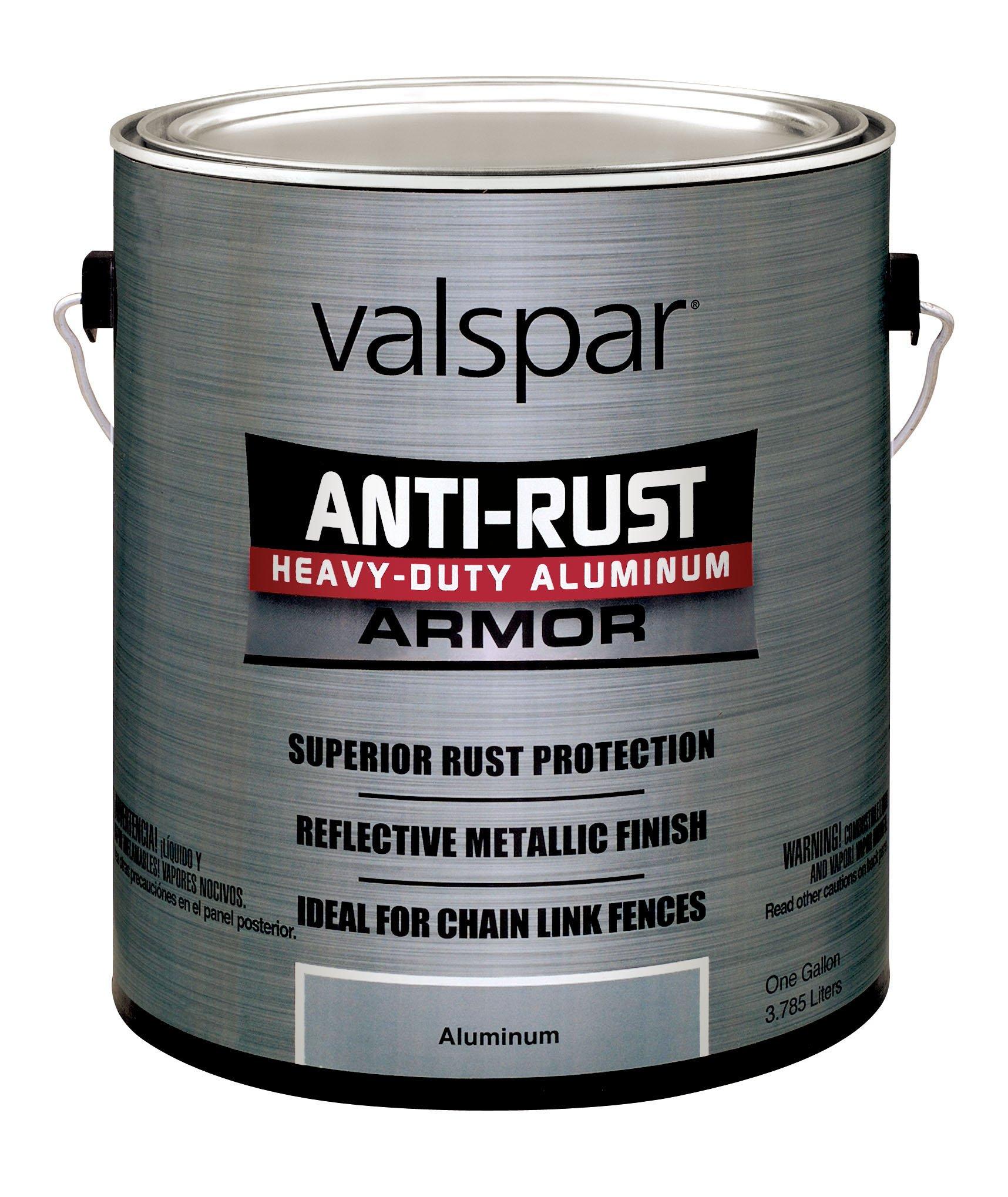 Valspar (21840G-2PK) Aluminum Heavy Duty Enamel - 1 Gallon, (Pack of 2)