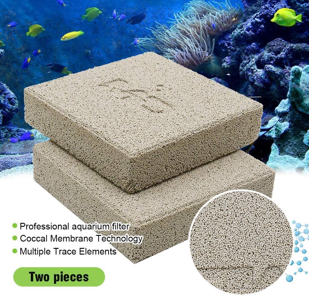 boxtech Aquarium Filter Media, Ceramic Biological Filter Media for Marine and Freshwater Fish Tank