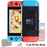 Nintendo Switch Case Dock Friendly [Updated],FYOUNG Protective Cover Case for Nintendo Switch and Nintendo Switch Joy-Con Controller