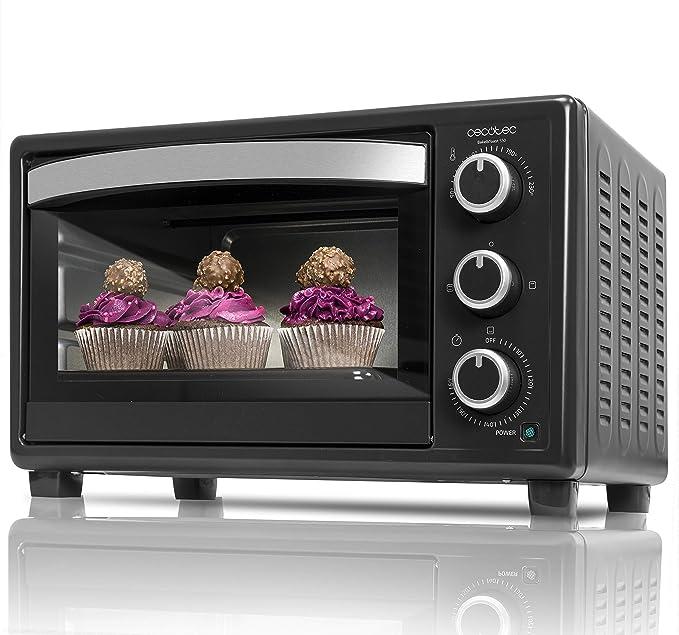 Cecotec Bake&Toast 550 Horno Sobremesa, Capacidad de 23 litros, 1500 W, 3 Modos, Temperatura hasta 230ºC: Amazon.es: Hogar