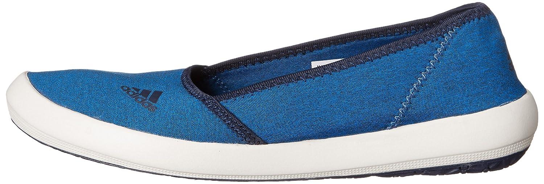 adidas outdoor Women's Boat Slip-On Sleek Water Shoe B0116FUKKW 8 B(M) US|Shock Blue/Coral Navy/Chalk White