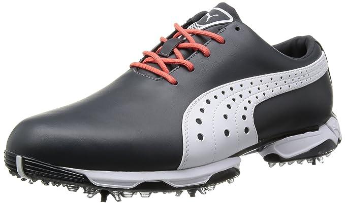 Puma NeoLux golf shoes Ebony / White, White, 40.5