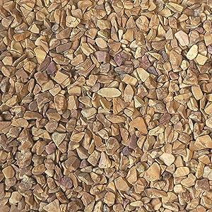 "Midwest Hearth Natural Decorative Wood Bean Pebbles 1/5"" Size (2-lb Bag)"