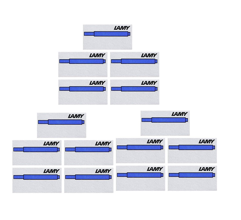 5er Pack Lamy T10 Tintenpatronen Blau SPARPACK
