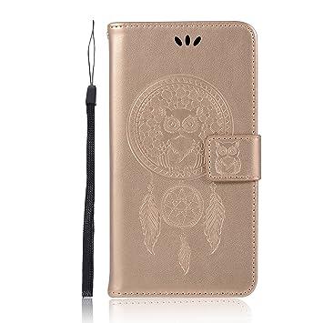 pinlu® Funda para ZTE Blade V7 Lite (5.0pulgada) Precioso Flip Billetera Carcasa PU Leather con Ranuras de Soporte Función Cierre Magnético Diseño ...