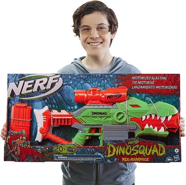 Nerf DinoSquad Rex-Rampage Motorized Blaster