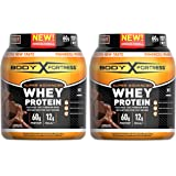 Body Fortress Super Advanced Whey Protein Powder, Gluten Free, Chocolate Flavor, 2 Pound